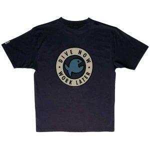 iQ T-shirt Dive Now Royal Navy