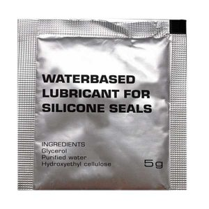 Waterproof lubricant for silicone seals