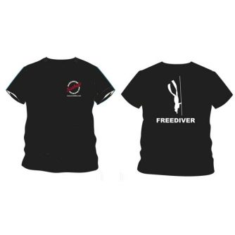 Freediver t-shirt dames