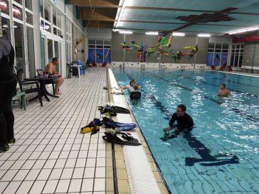 Zwembadduik 17 december 2017