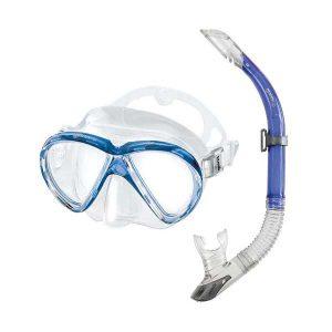 Mares Marea snorkelset blauw