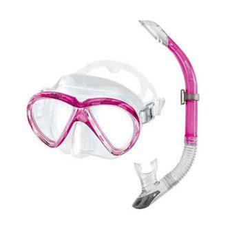 Mares Marea snorkelset roze