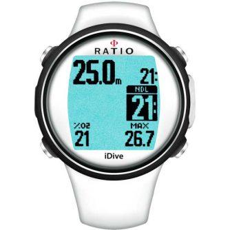 Ratio iDive Easy sport duikcomputer - Wit