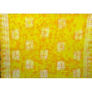 Sarong geel zon