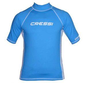 Cressi junior UV shirt blauw